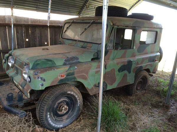 1969 Nissan Patrol For Sale in Witchita Falls TX