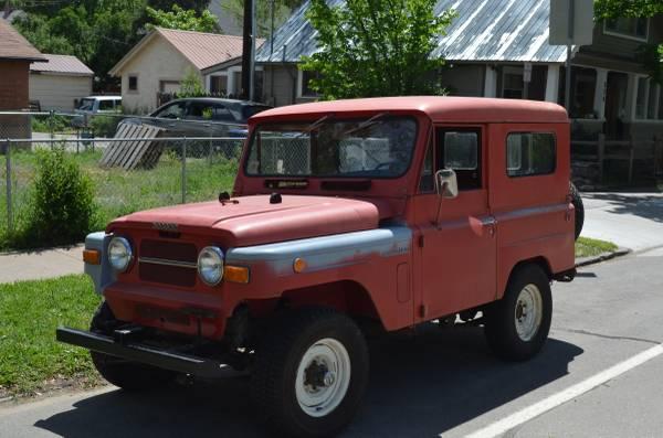 1969 Nissan Patrol For Sale in USA: Craigslist Ads & eBay ...