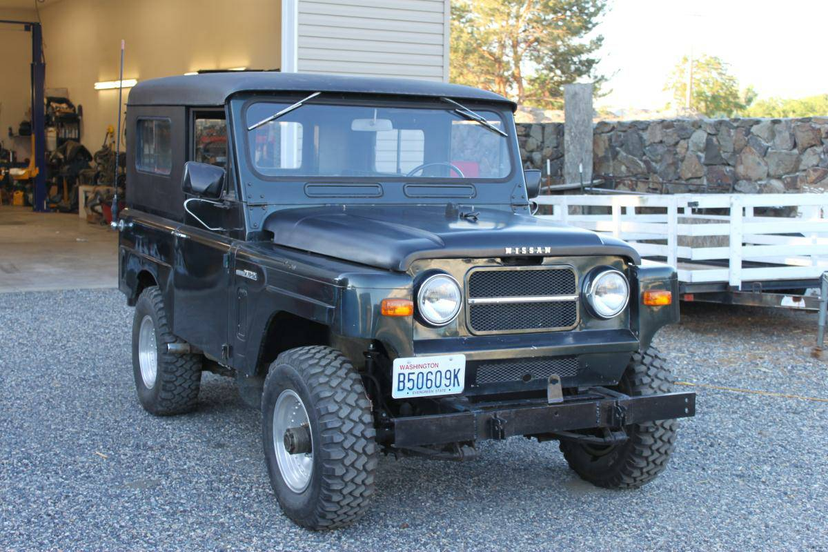1969 nissan patrol for sale in pasco washington. Black Bedroom Furniture Sets. Home Design Ideas