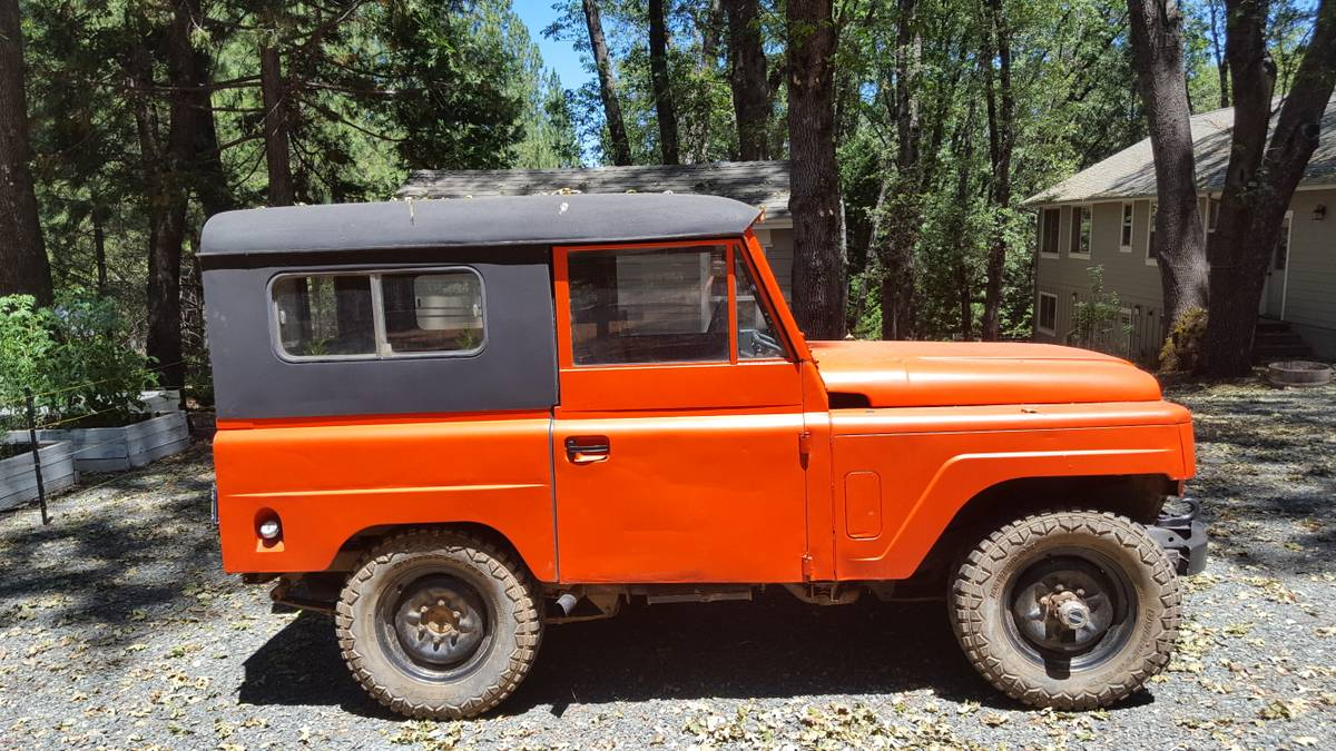 Collectors Rare 1963 Nissan Patrol 4X4 For Sale in Grass ...