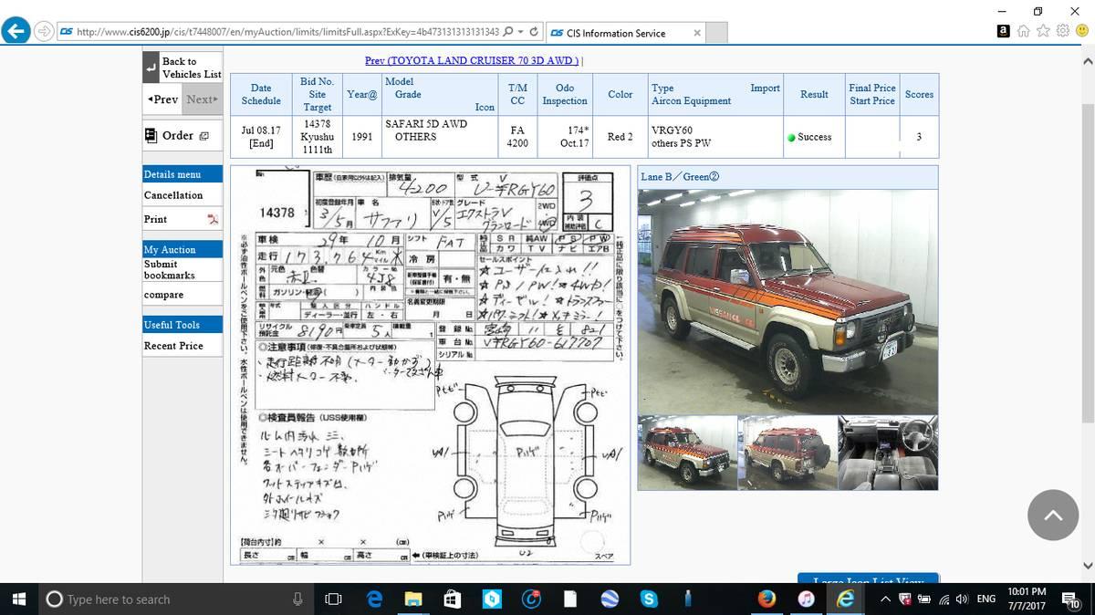 1991 Nissan Safari GranRoad RHD-JDM Import For Sale in Seattle, WA