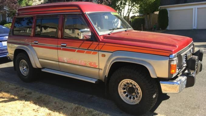 1991 Nissan Safari GranRoad RHD-JDM Import For Sale in